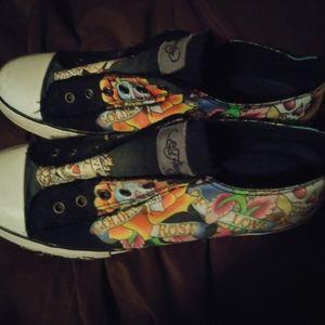 Men's size 12 Ed Hardy sneakers